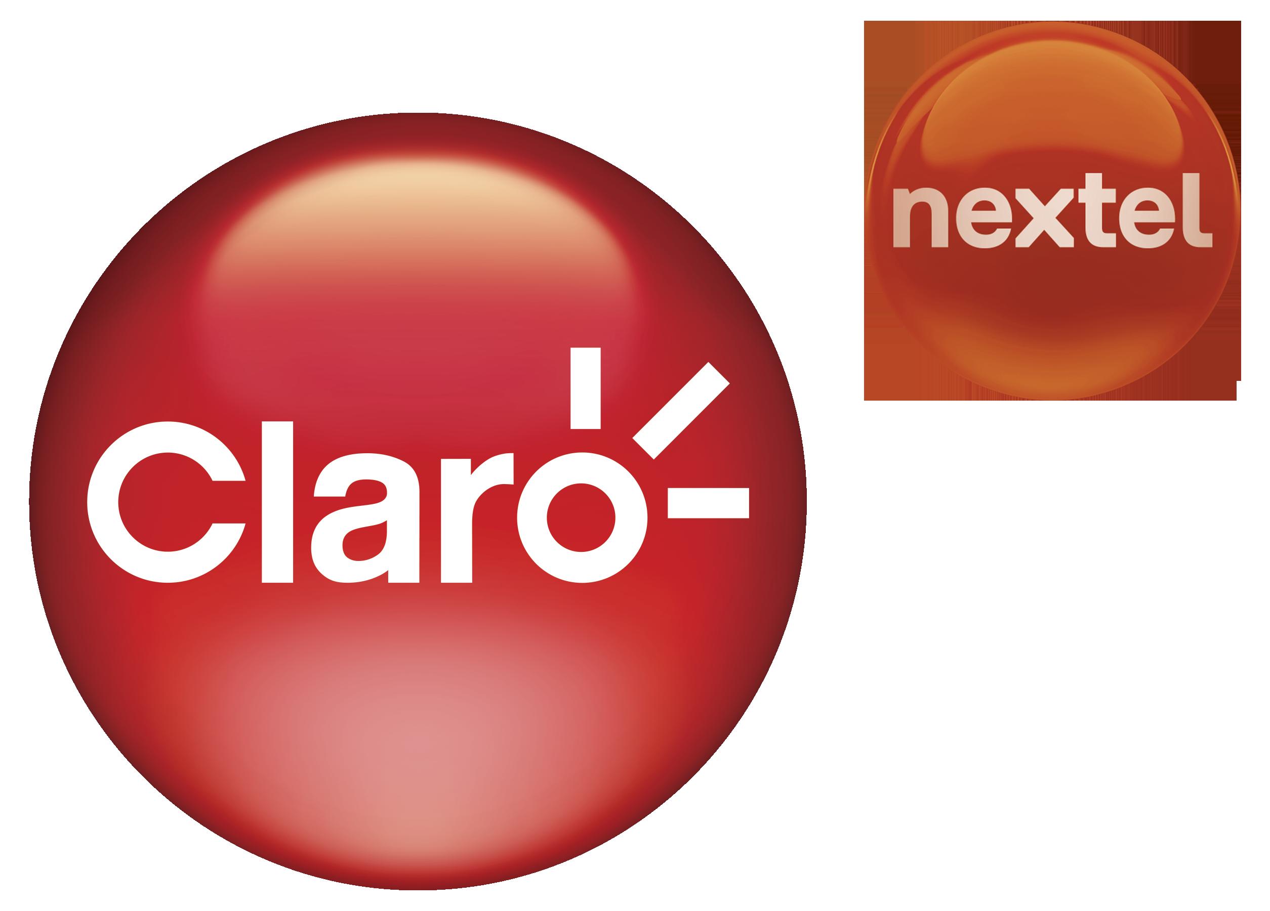 Logotipo Claro Nextel